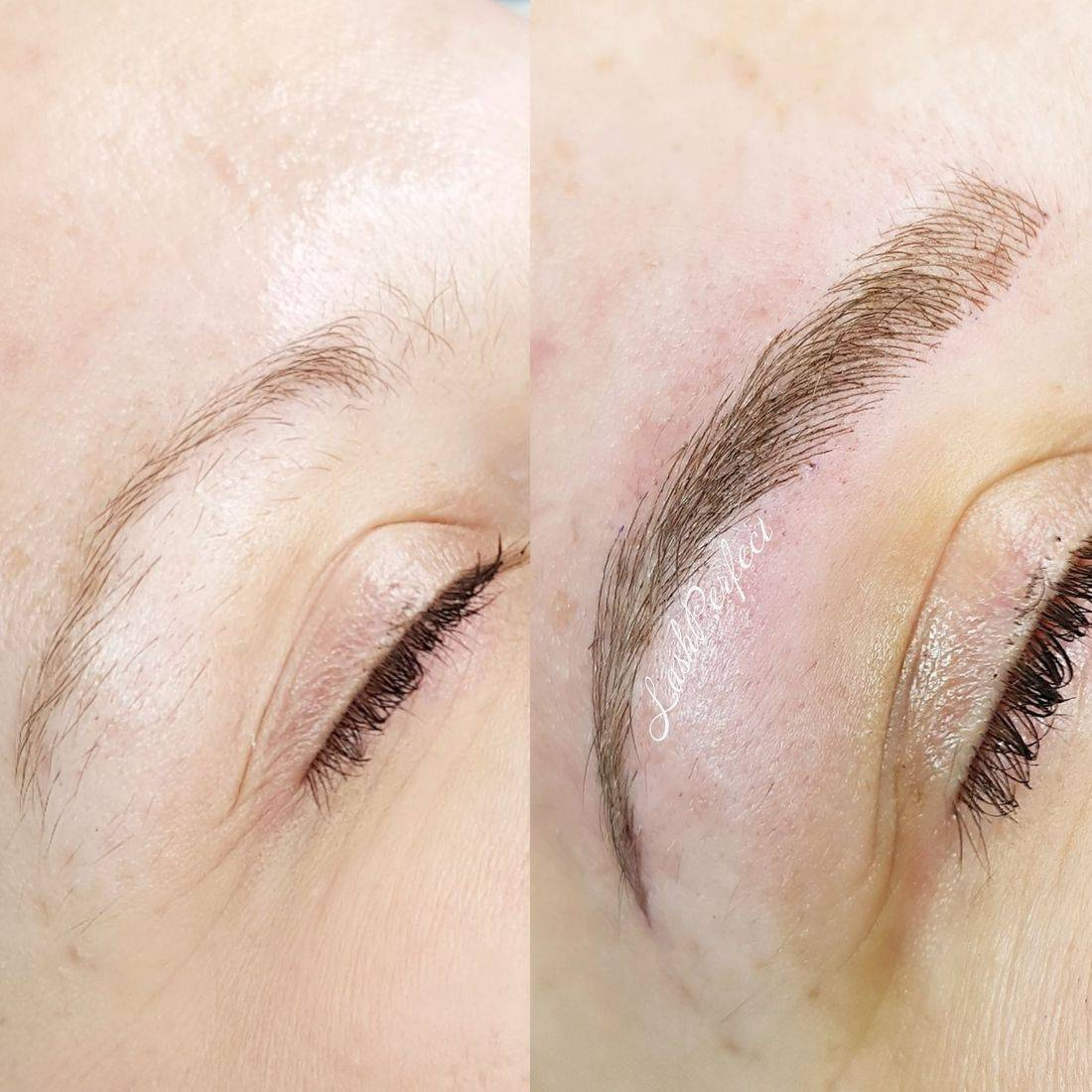 Best Microblading Halifax 3D brow embroidery natural brow tattoo