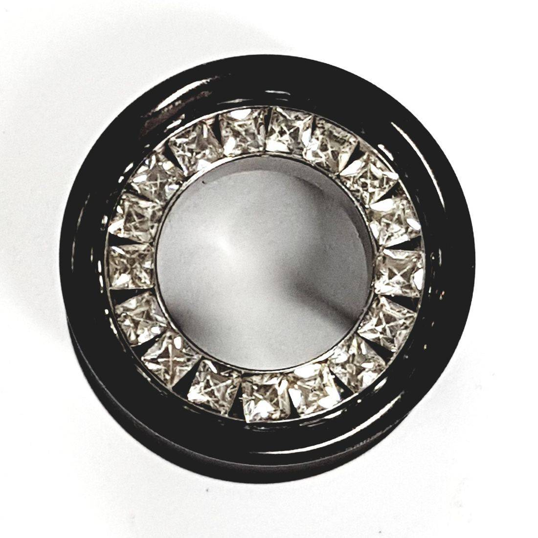 20mm titanium Black tunnel  available from Kazbah online or our Leicester city centre store
