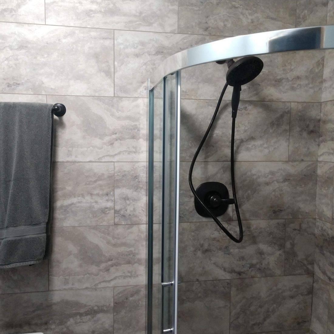 Old Shower Valve Trim