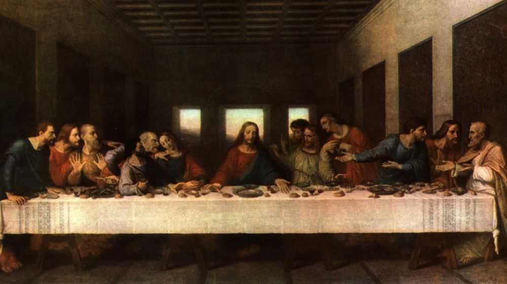 THE UPPER ROOM  - THE LAST SUPPER