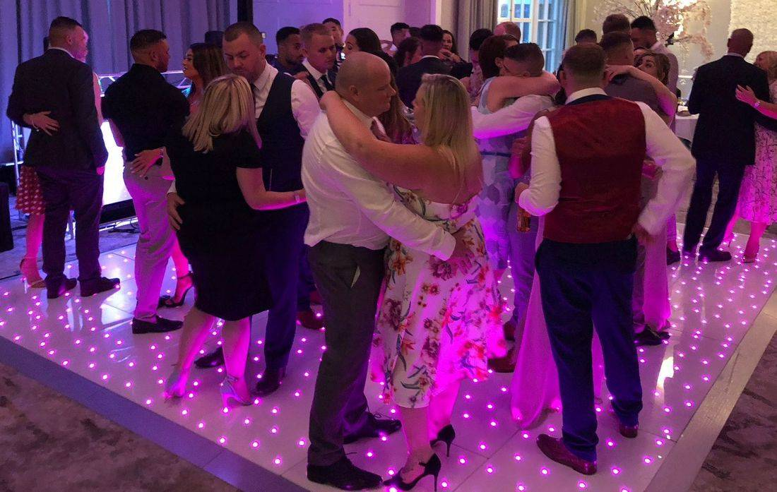 Forest of Arden Marriott Hotel & Country Club LED DANCEFLOOR