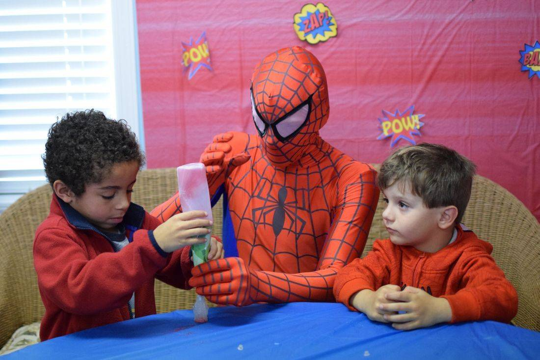 Spiderman Birthday Entertainer Biloxi