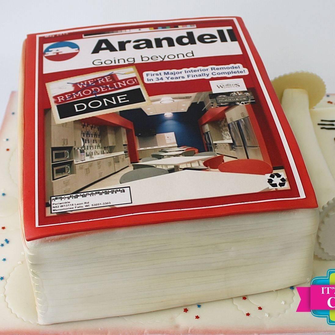Arandell Cake Dimensional Cake Milwaukee