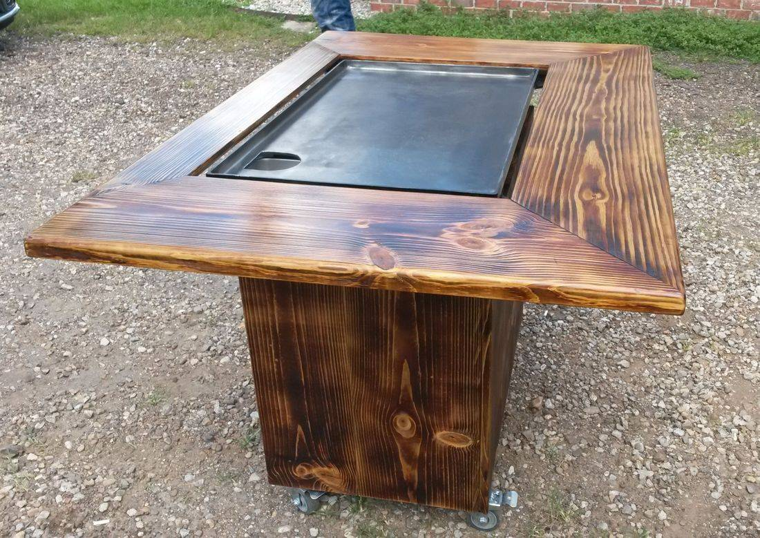 Outdoor Home Hibachi Grill Cypress