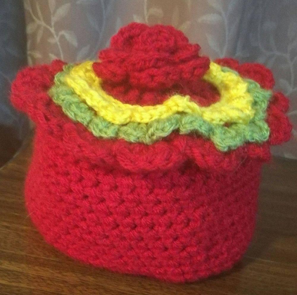 Baby Cake Hat Handmade