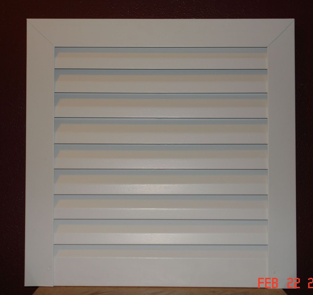 Aluminum Square gable vent