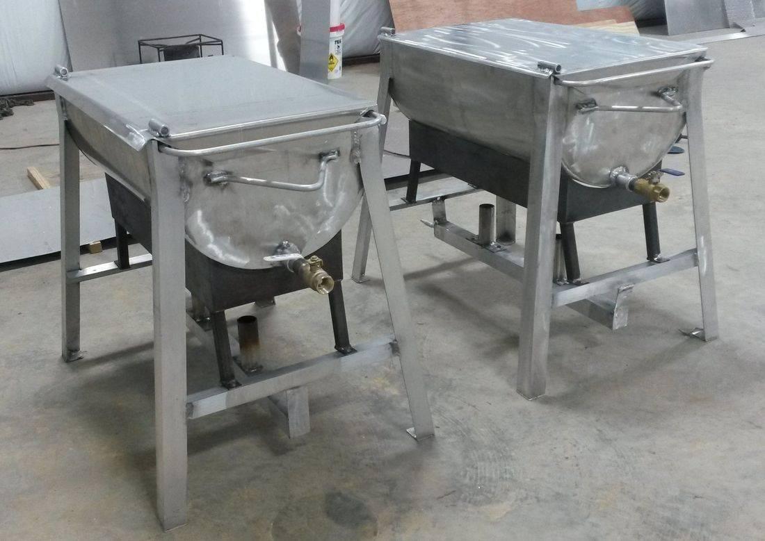 Crawfish cooker boil custom shrimp boiler louisiana
