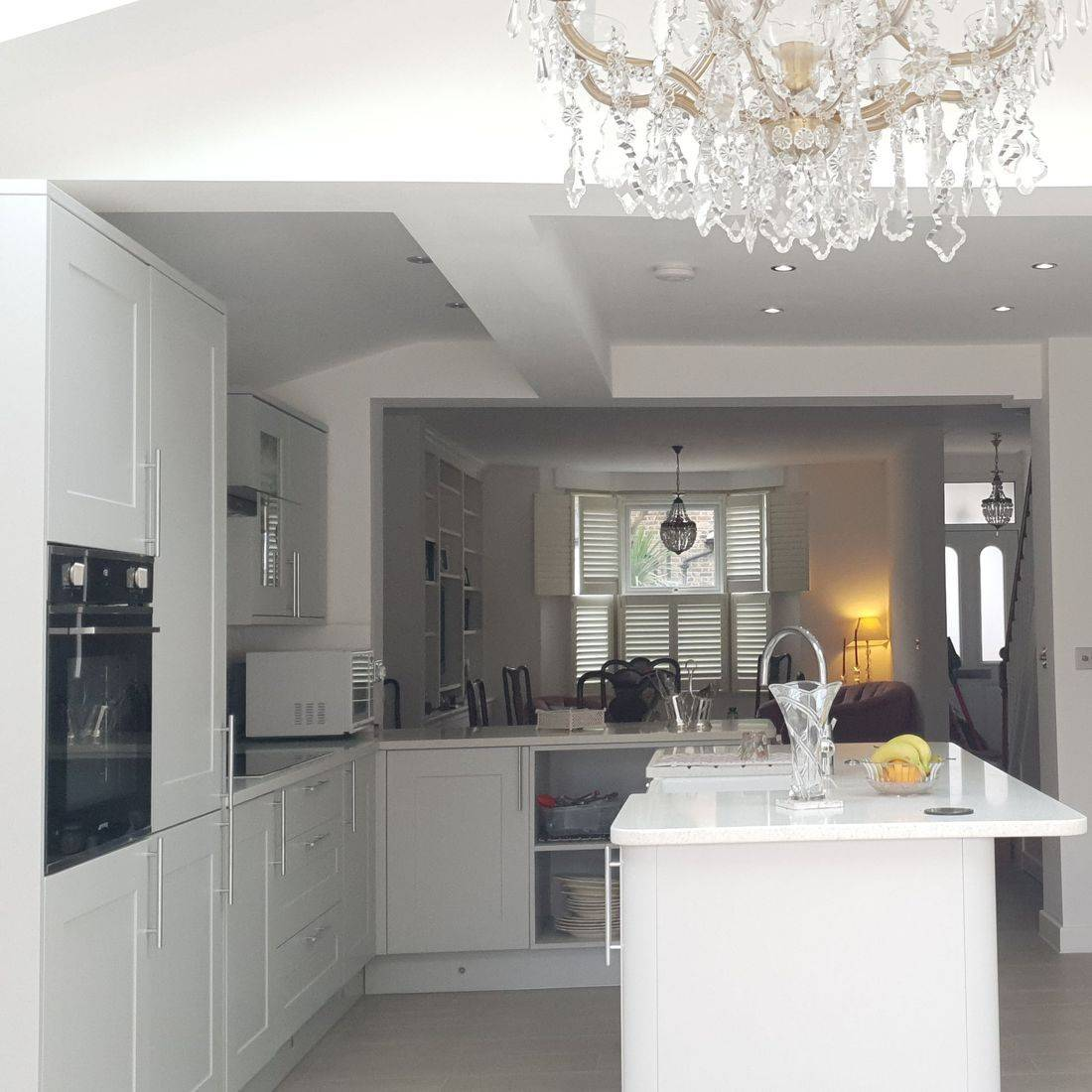 extension with ground floor refurbished