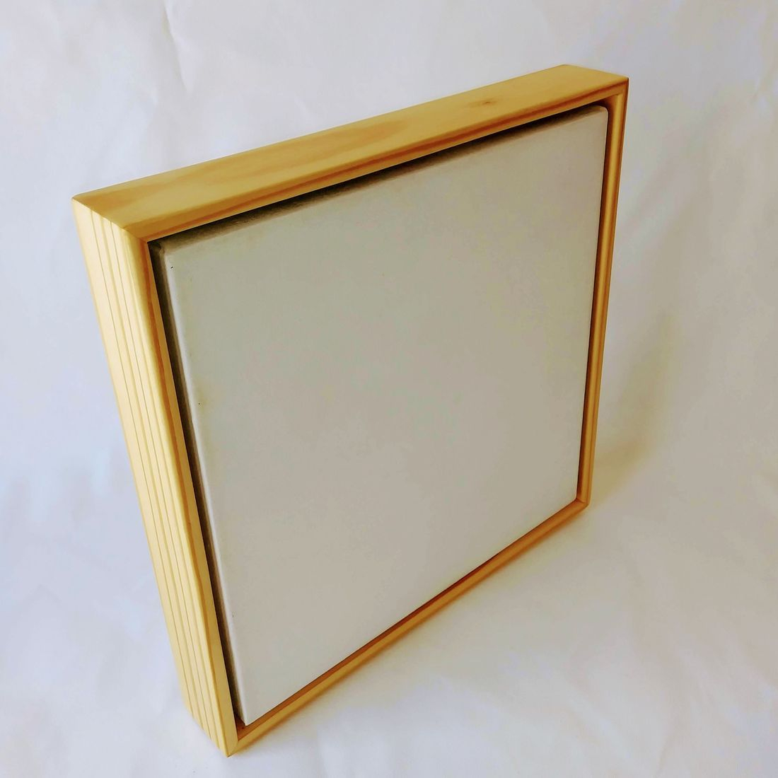 Artist canvas with floater frame