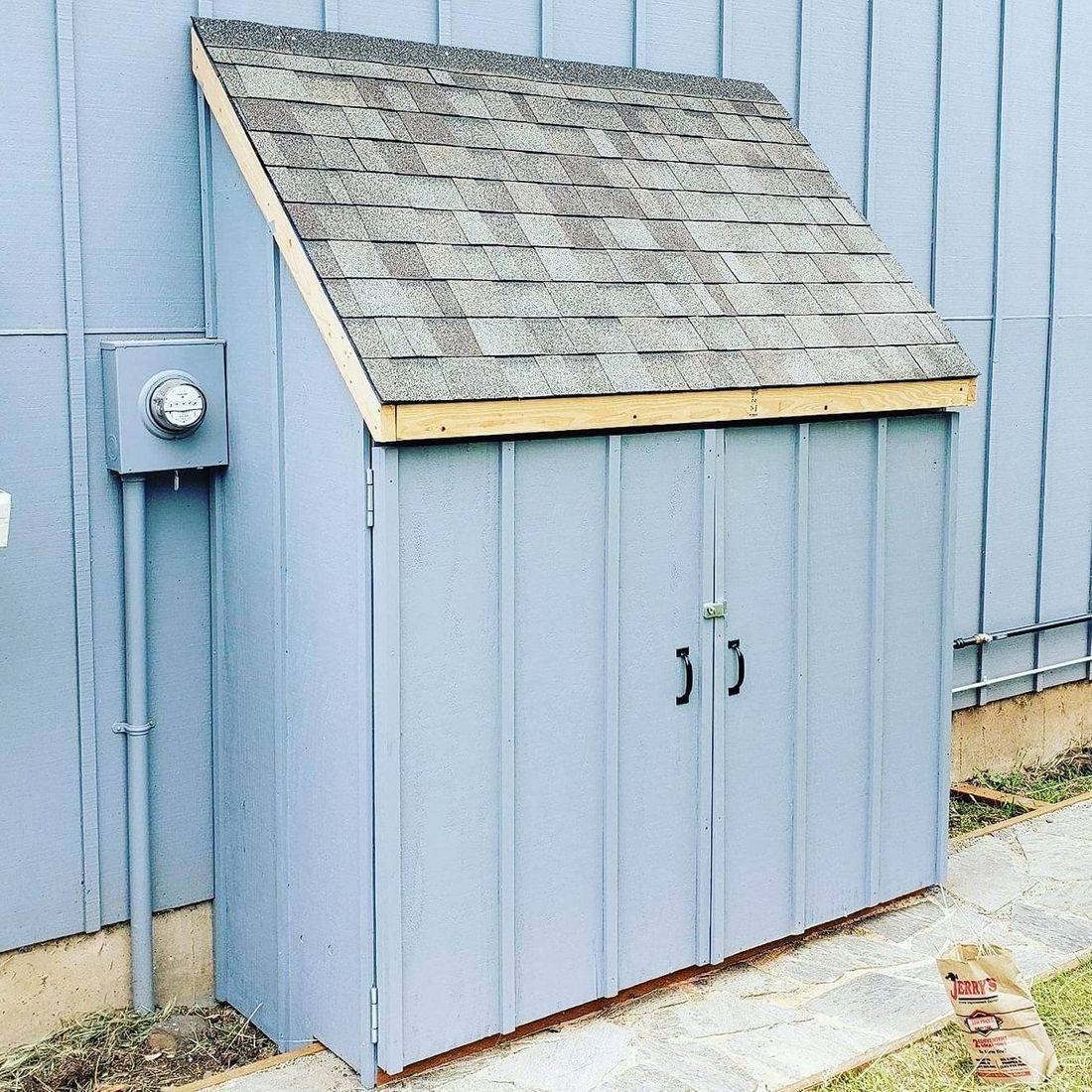Custome Garbage Shed