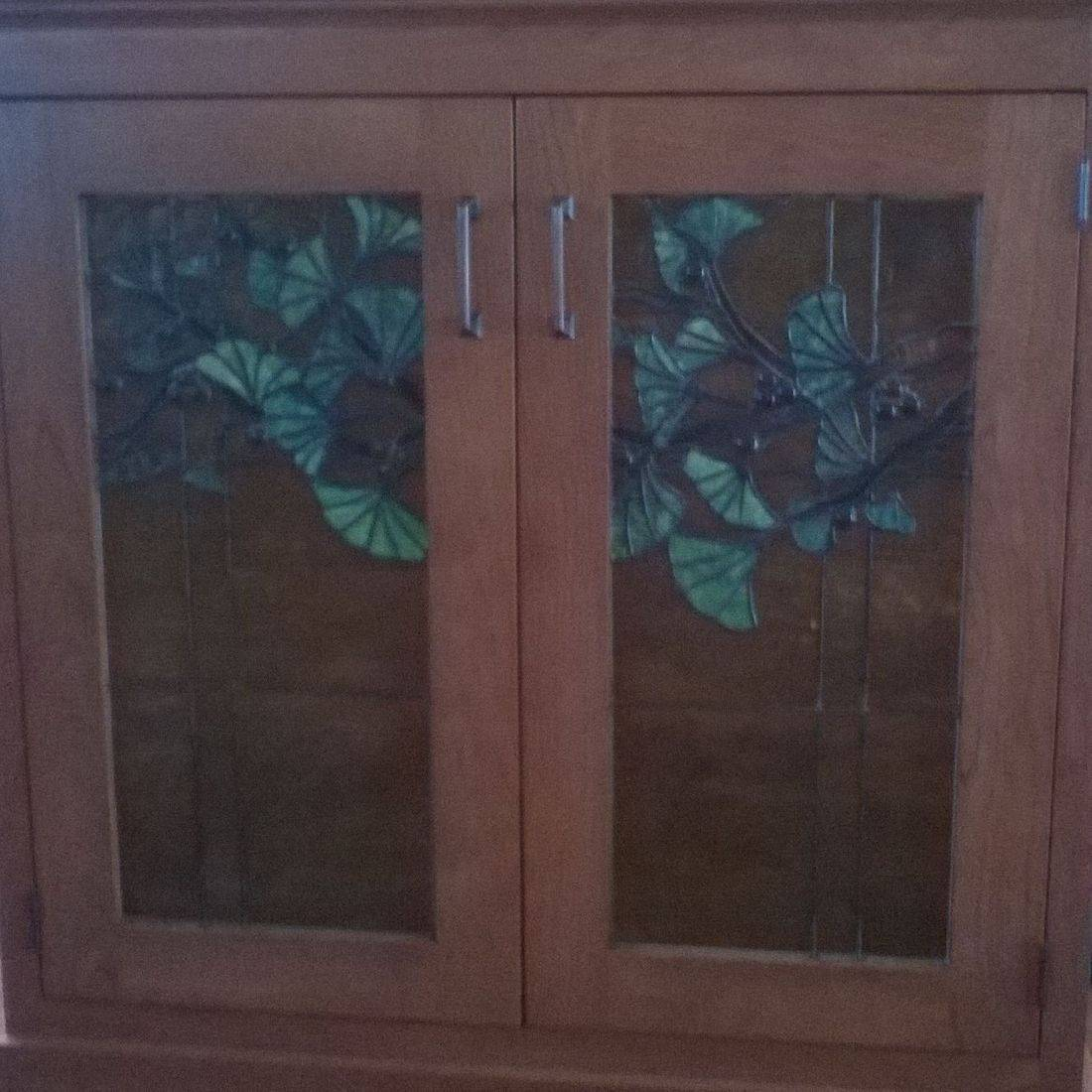 Stained Glass Custom Cabinet Doors Scranton Handmade