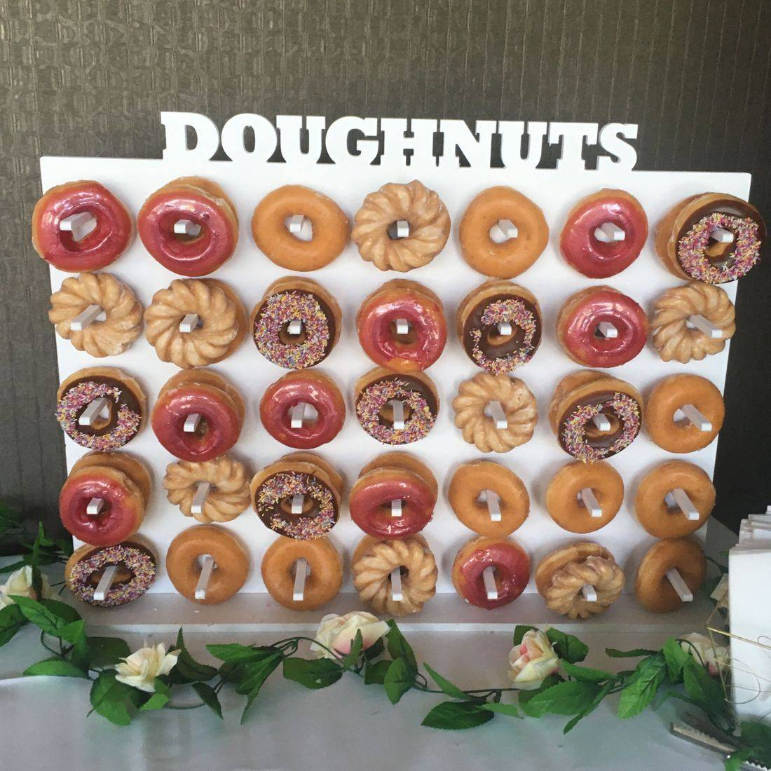 Donut wall hire Edinburgh