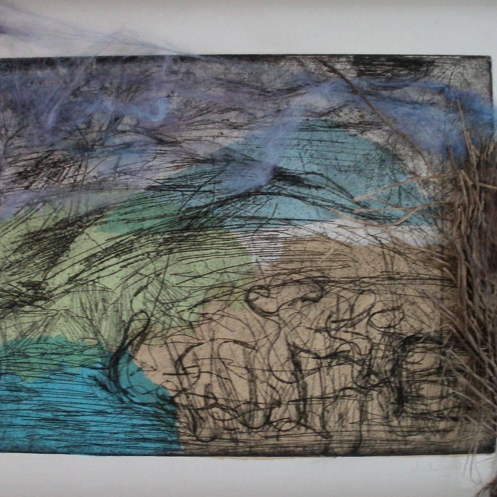 etching, MOMA Wales, Jacqueline Jeynes