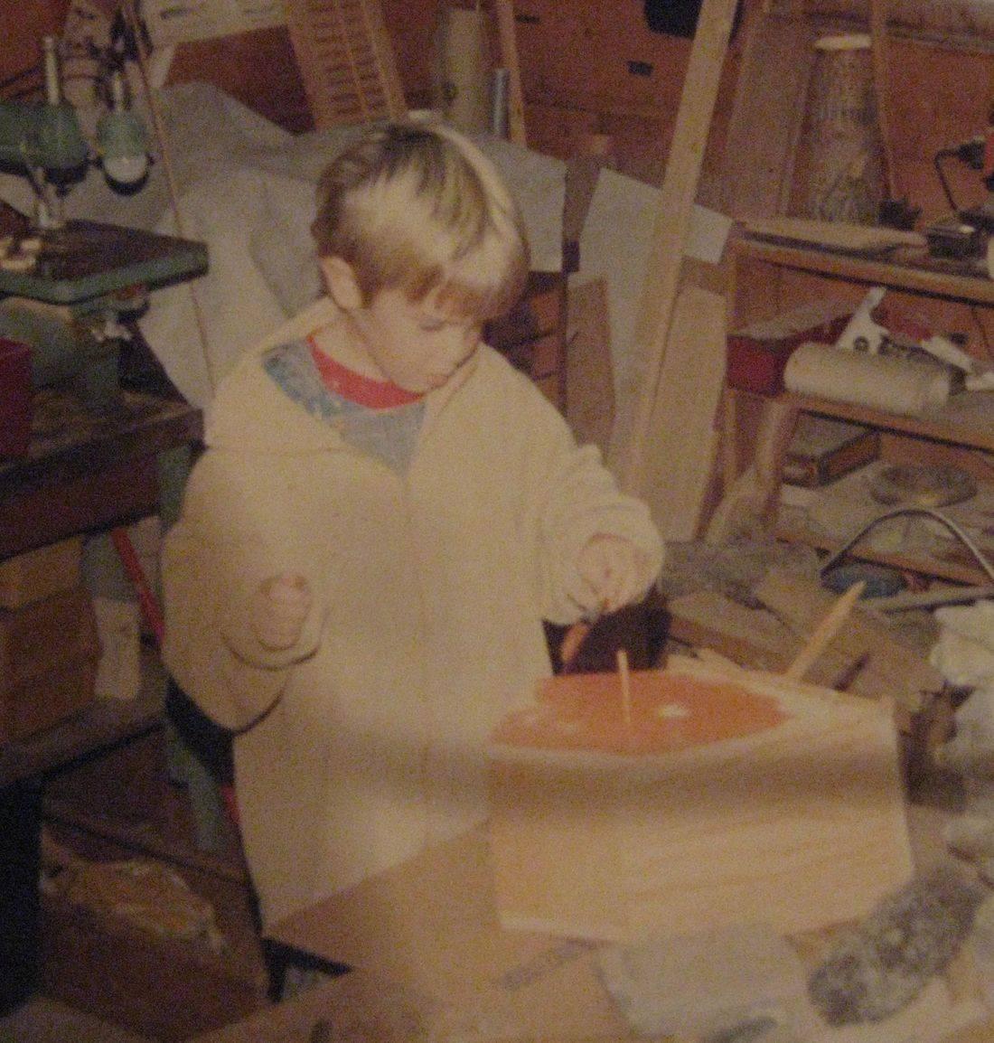 Lars Bergersen wood shop
