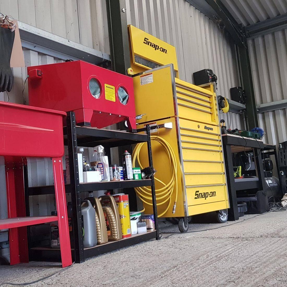 Snap-On toolbox, Garage equipment, car service Martock