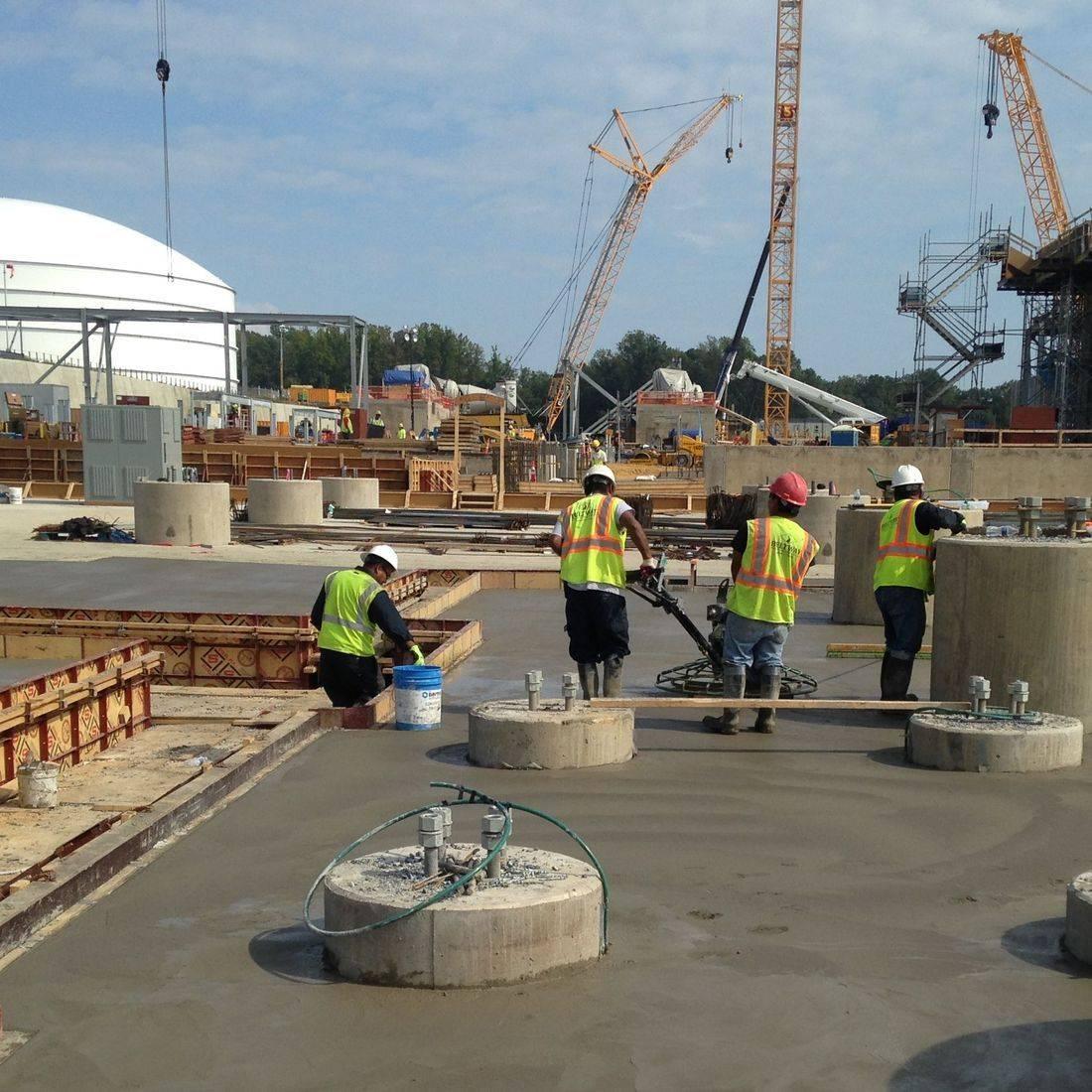 industrial concrete construction