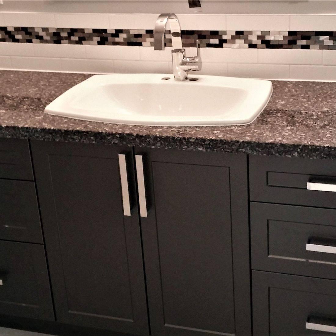 Sibra Kitchens Markham Toronto cabinets bathroon vanity