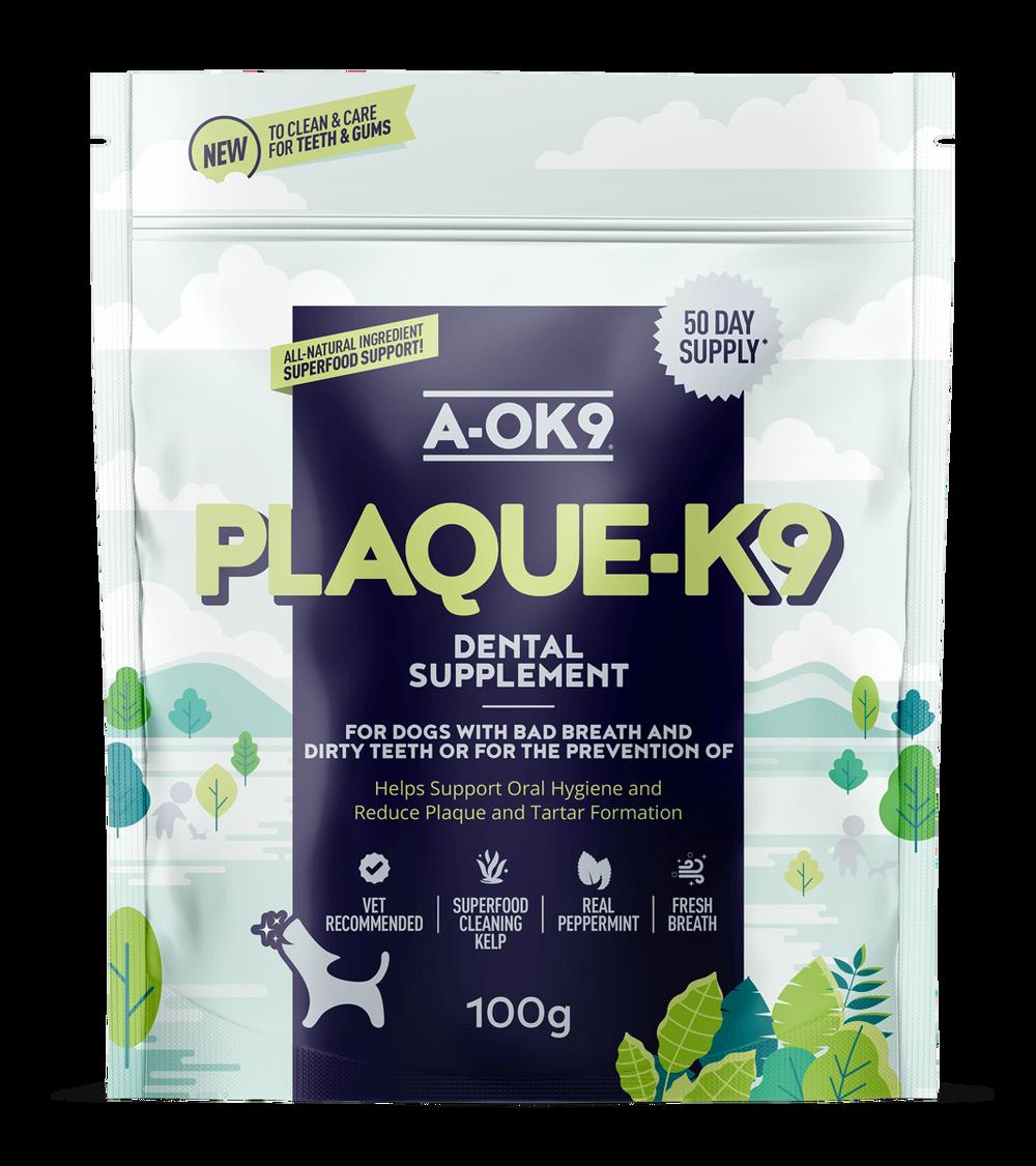 A-OK9 PLAQUE-K9
