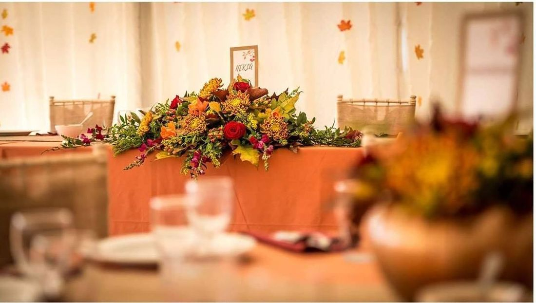 Autumn wedding styling ideas