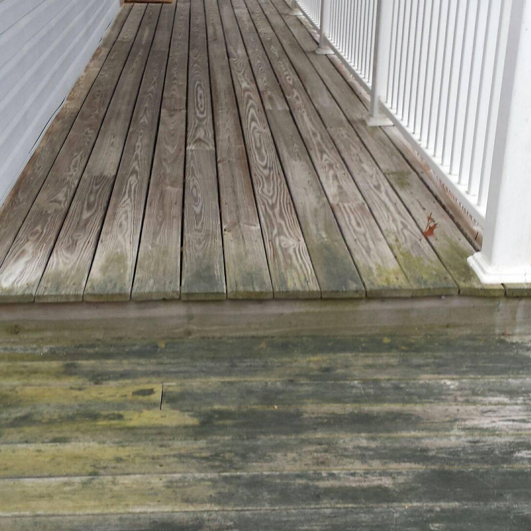 WNC Presure Washing Wood Restoration Asheville