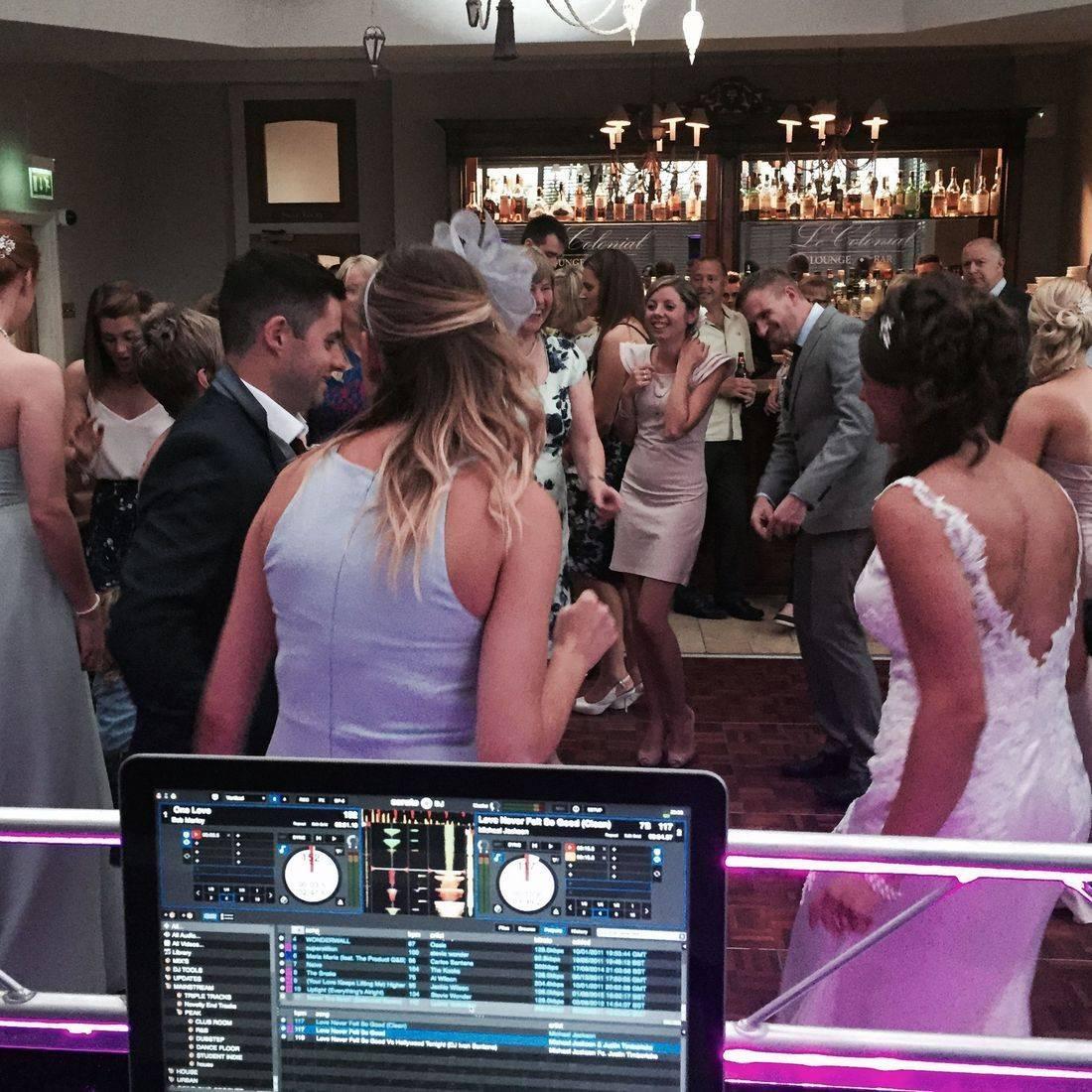 Wedding Dj Brockencote Hall Kiddermisnter Worcestershire