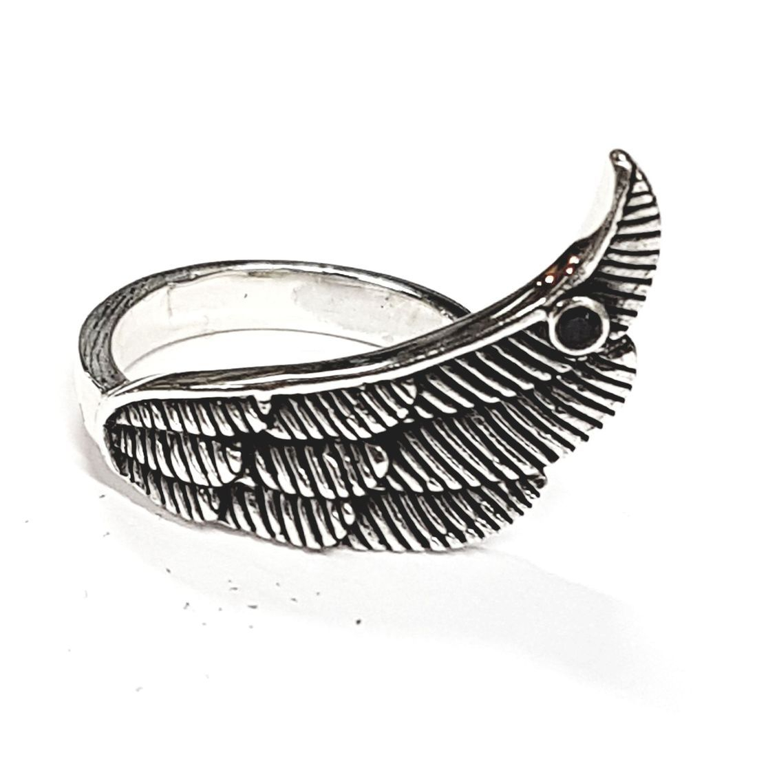 Solid Silver ring available at Kazbah online and our Leicester city centre shop