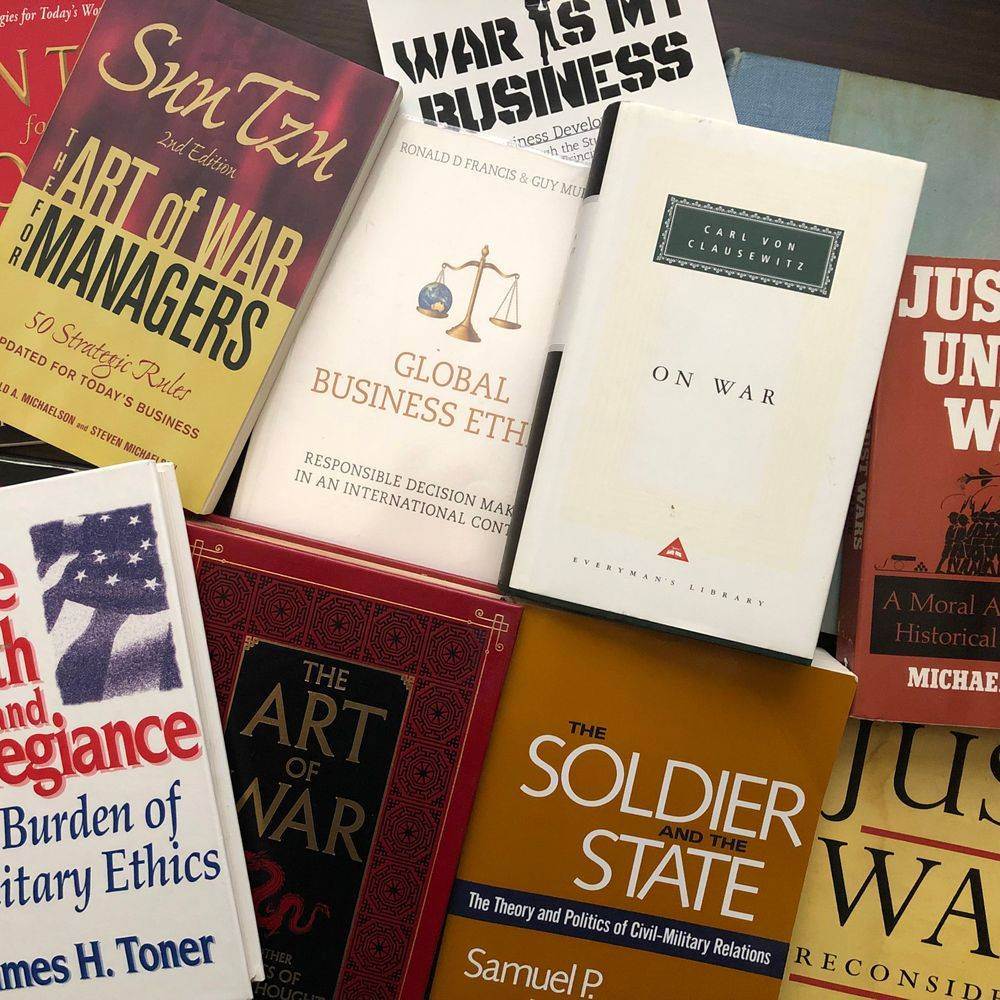 book reviews, war is my business, wimb, military theory, business theory