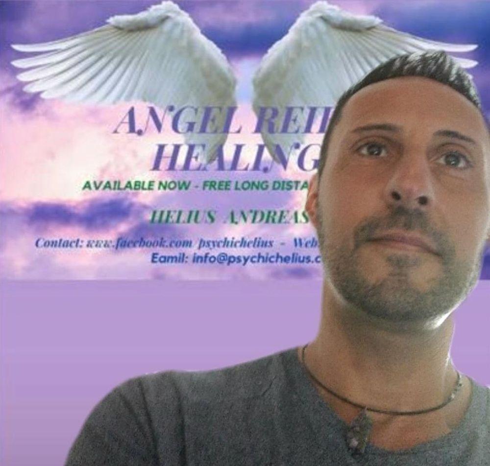 Psychic Medium Clairvoyant Helius Andreas reiki master healer portsmouth