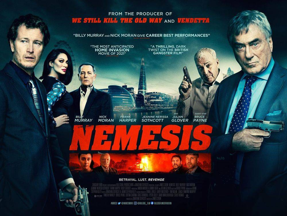 Nemesis movie starring Billy Murray, Nick Moran & Julian Glover
