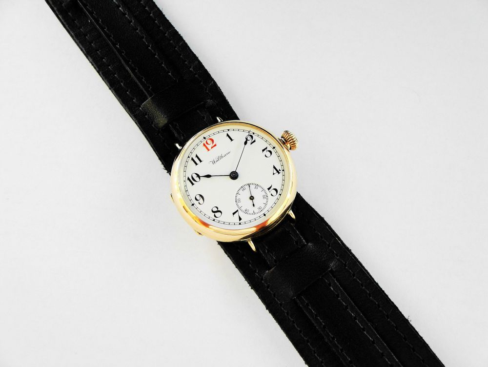 WWI Elgin RED 12 Trench Watch