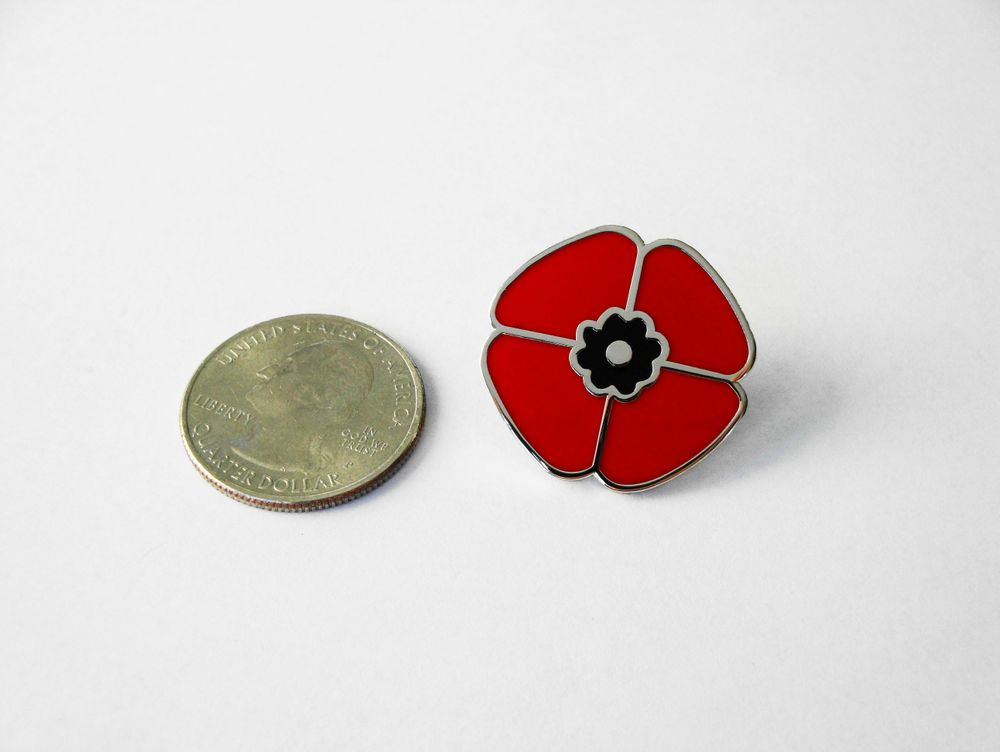 LRF Antique Watches Poppy Pin