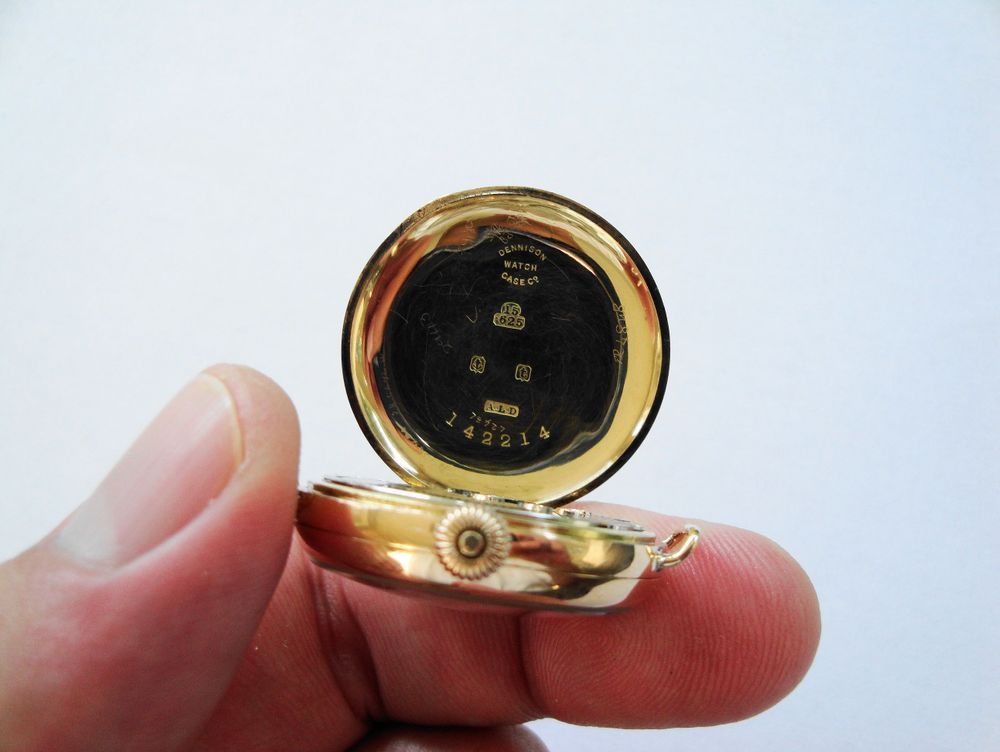 15k Solid Gold WWI Waltham Trench Watch
