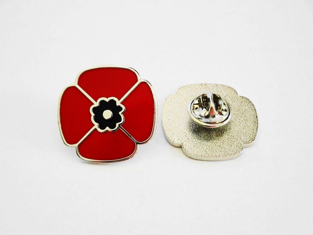 LRF Antique Watches Poppy Pin