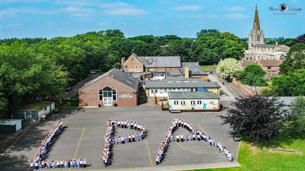 School photography drone mast aerial Essex