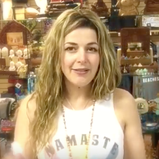 Namaste Tube Vlog about Amethyst  and Essential Oils