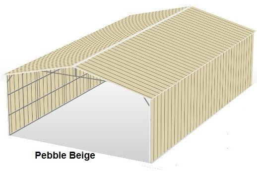 Pebble Beige Metal Structures