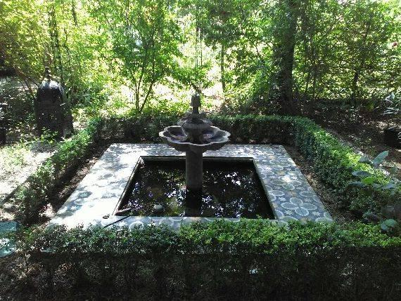 Gite nature du Tremblay en Touraine jardin de Mireille