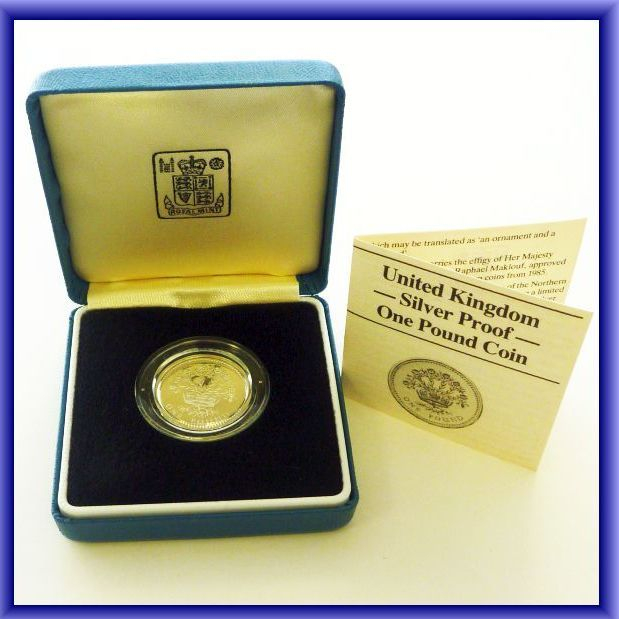 SILVER PROOF £1