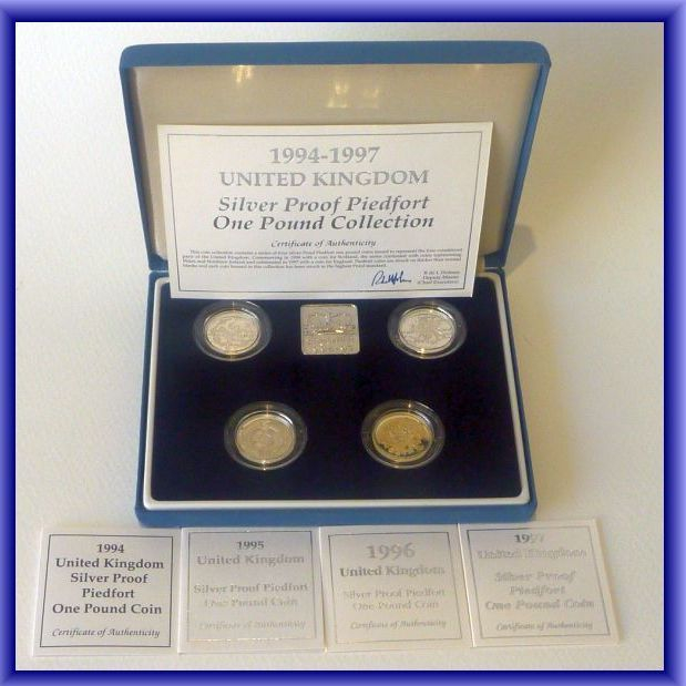 COIN SETS/silver proof