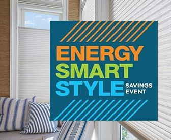 Get mail-in rebates on qualifying purchases of Hunter Douglas energy efficient products starting January 11, 2020.