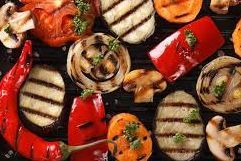 These are perfectly grilled mixed vegetables