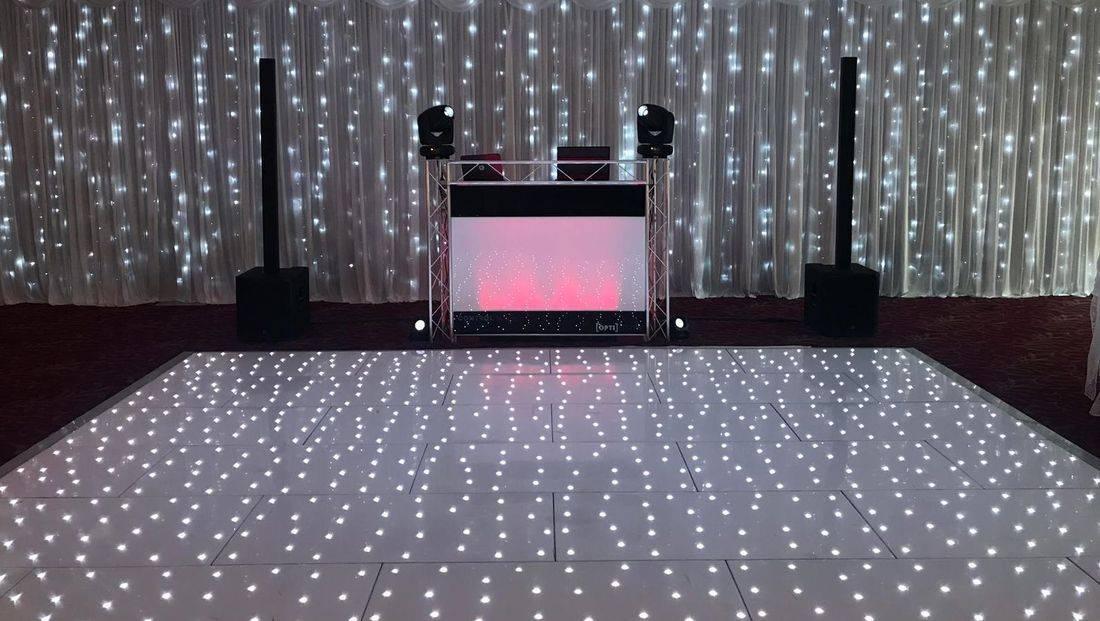 LED Dancefloor Hire @ Stourport Manor Worcesterhsire Birmingham Stourbridge