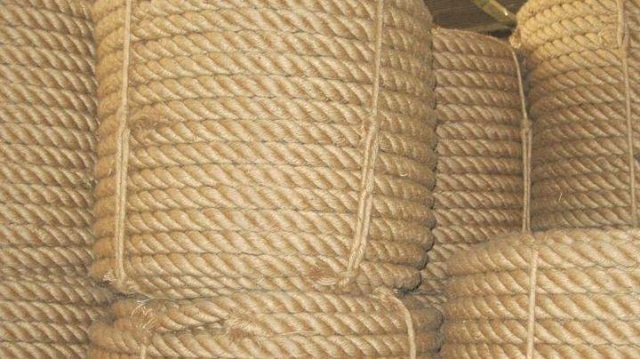 Jute rope in Sharjah stock