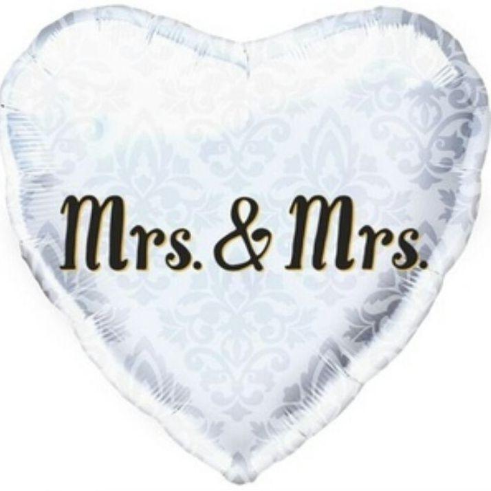 Mrs&Mrs balloon