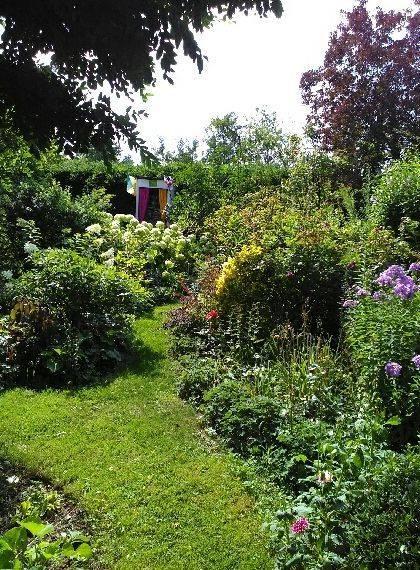 Gite nature du Tremblay en Touraine jardin