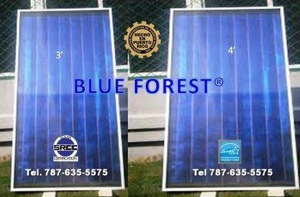 Placas para calentador solar