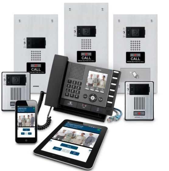 video intercom installation
