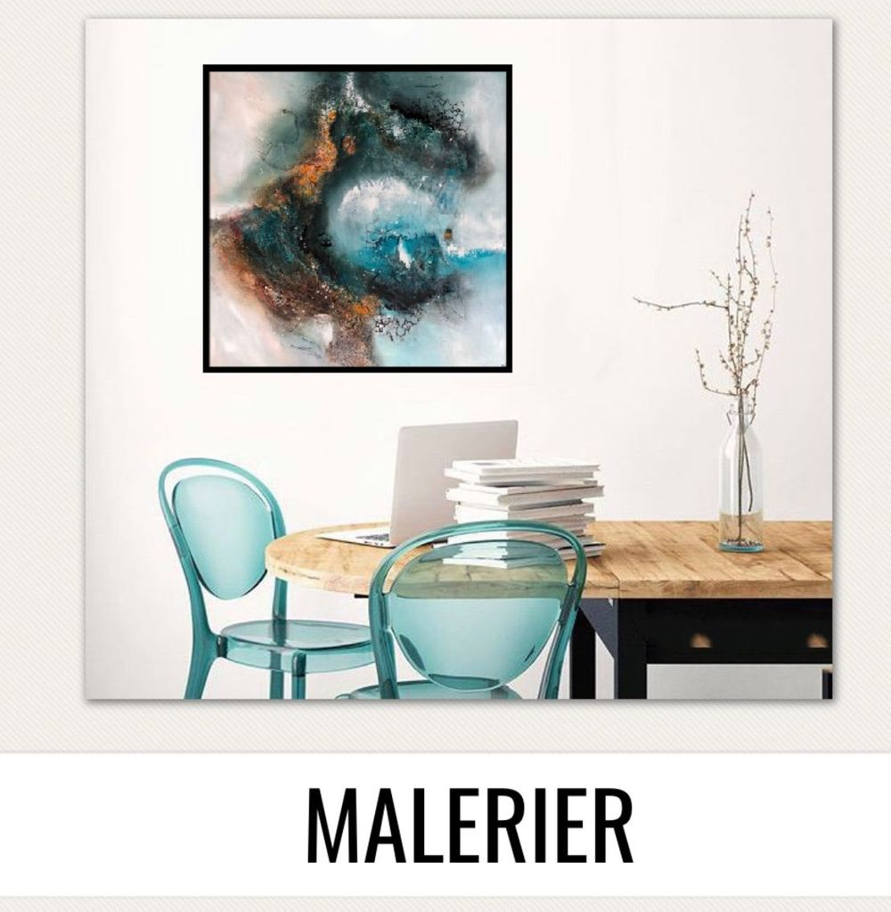 Farverige-malerier