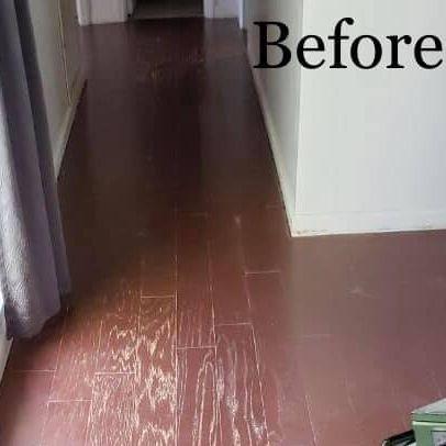 damaged engineered flooring floors sand and finish
