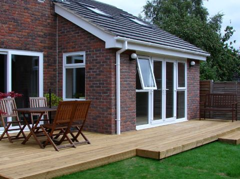 Finished house extension in Middlesbrough